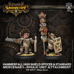 Hammerfall High Shield Officer & Standard Unit Attachment