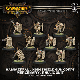 Hammerfall High Shield Gun Corps Unit
