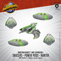 Saucers, Power Pods & Hunter