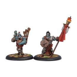 Kriel Warrior Standard Bearer & Piper