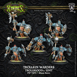 Trollkin Warders Unit