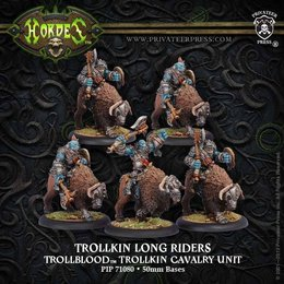 Trollkin Long Riders Cavalry Unit