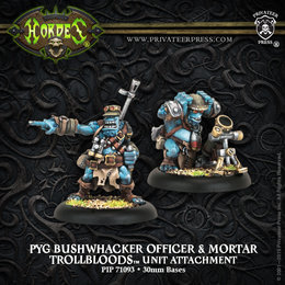 Pyg Bushwhacker Officer & Mortar Unit Attachment