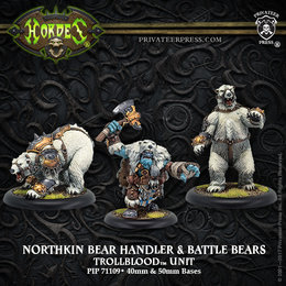 Northkin Bear Handler & Battle Bears