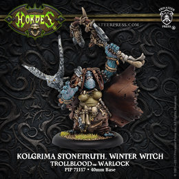 Kolgrima Stonetruth, Winter Witch