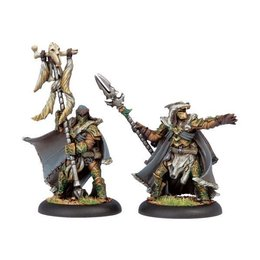 Wolves of Orboros Chieftain & Standard Unit Attachment