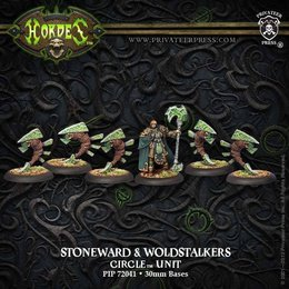 Druid Stoneward and Woldstalkers Unit