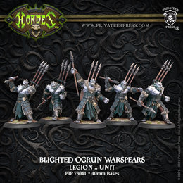 Blighted Ogrun Warspears Unit