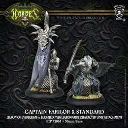 Captain Farilor & Standard Blighted Nyss Legionnaire Unit Attachment