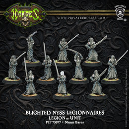 Blighted Nyss Legionnaires Unit