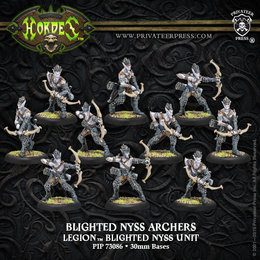 Blighted Nyss Archers / Swordsmen Unit