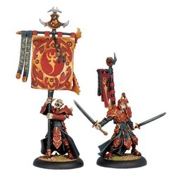 Swordsmen Officer & Standard Bearer