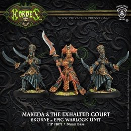 Makeda and Exalted Court Epic Warlock