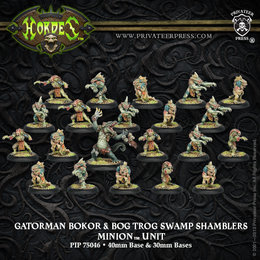Gatorman Bokor and Bog Trog Swamp Shamblers