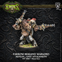 Farrow Brigand Warlord Unit Attachment