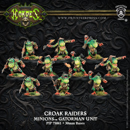 Croak Raiders Unit
