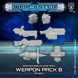 Dusk Wolf B Weapon Pack  – Marcher Worlds Pack
