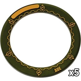 Warmachine Area of Effect Ring Markers - 3inch