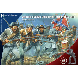 Civil War Confederate Infantry 1861-65