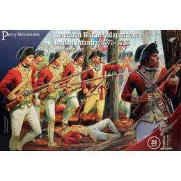 War of Independence British Infantry 1775-1783
