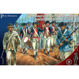 War of Independence Continental Infantry 1776-1783