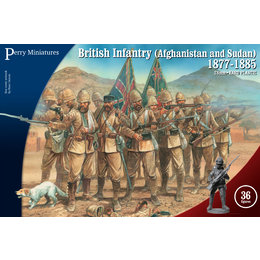British Infantry (Afghanistan and Sudan) 1877-1885