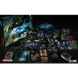 Alien vs Predator TM: The Hunt Begins Board Game