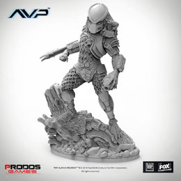 Predator Jungle Hunter Statue