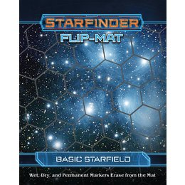 Starfinder RPG Flipmat Basic Starfield