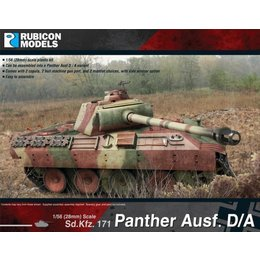 German Panther Ausf. D & A