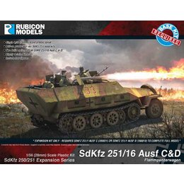 German - SdKfz 251/16 C/D expansion kit
