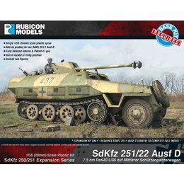 German - SdKfz 251/22 Ausf D expansion kit