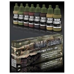 GERMAN VEHICLES CAMO Paint Set