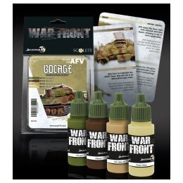 BOCAGE BATTLE OF NORMANDY Paint Set