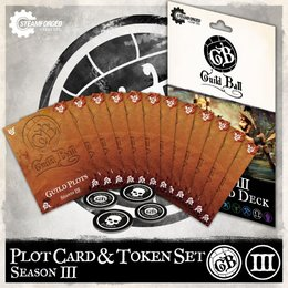Guild Ball Plot Card & Token Set - Season 3