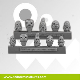 Dwarf Stam Guard Heads #1