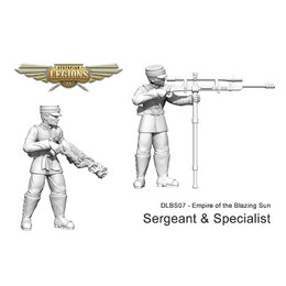 Imperial Rifles Sergeant & Specialist