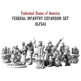 Federal Infantry Expansion Set