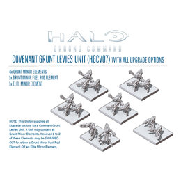 Covenant Grunt Levies Unit (all upgrades)