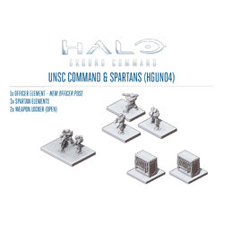 Command & Spartans Pack