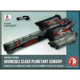Invincible Planetary Gunship