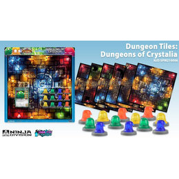 Super Dungeon Explore - Dungeons of Crystalia Tiles