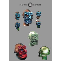Heads - Oni Masks