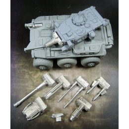 Model Kit - 6x6 Rapid Vehicle