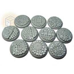 Cobblestone Round Lip 30mm