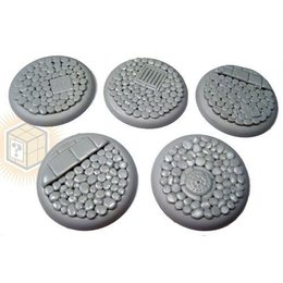 Cobblestone Round Lip 40mm