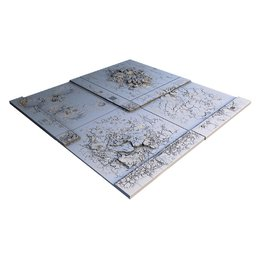 Damaged Urban Streets 24T Game Board
