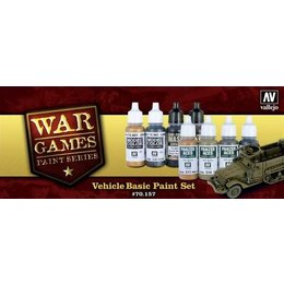 WWII Vehicle Basics -8pcs