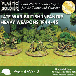 British Late War Heavy Weapons 1944-45
