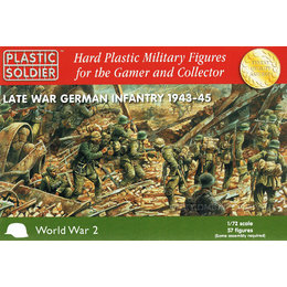 German Infantry Late War - 1/72nd